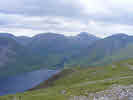 Wasdale Head from Illgill Head